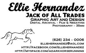 Welcome to the work of Ellie Hernandez